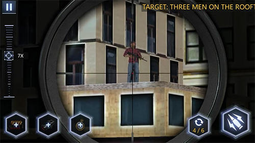 Screenshots von Sniper 3D: Strike assassin ops für Android-Tablet, Smartphone.