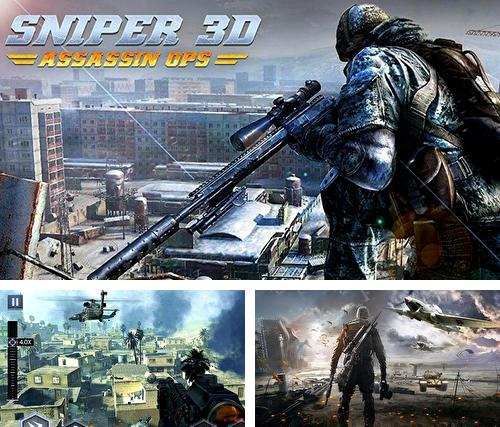 In addition to the game Sniper 3D: Strike assassin ops for Android, you can download other free Android games for ZTE Axon Pro.