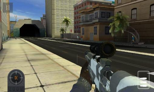 Скачати гру Sniper assassin 3D: Shoot to kill на Андроїд телефон і планшет.