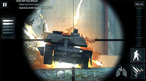 Геймплей Call of Mini Sniper для Android телефону.