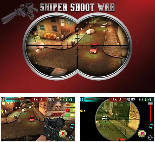 Sniper shoot war