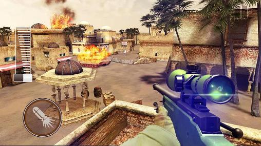 Download Sniper shooter: Bravo Android free game.