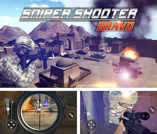 In addition to the game Sandstorm sniper: Hero kill strike for Android phones and tablets, you can also download Sniper shooter: Bravo for free.