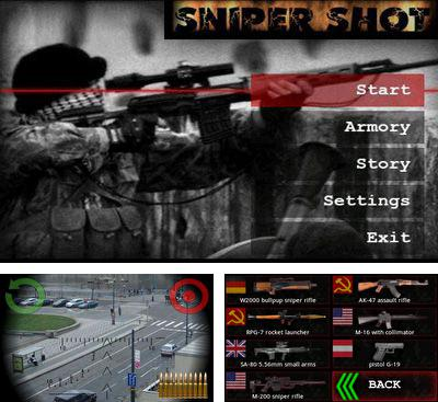 In addition to the game SniperTarget in sight for Android phones and tablets, you can also download Sniper shot! for free.