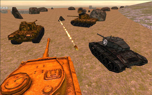 Sniper tank battle screenshot 2