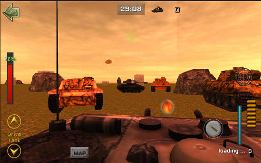 Sniper tank battle screenshot 3