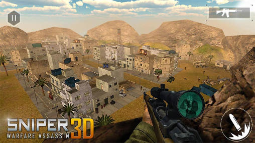Sniper warfare assassin 3D screenshot 1