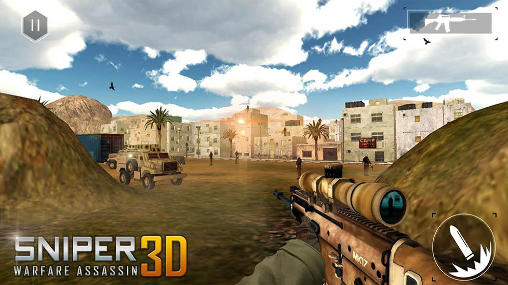Jogue Sniper warfare assassin 3D para Android. Jogo Sniper warfare assassin 3D para download gratuito.