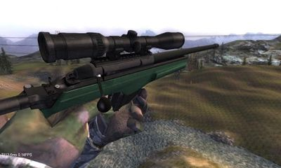 Screenshots of the SniperTarget in sight for Android tablet, phone.