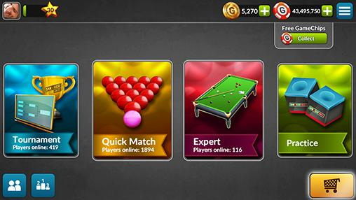 Download Snooker live pro Android free game.
