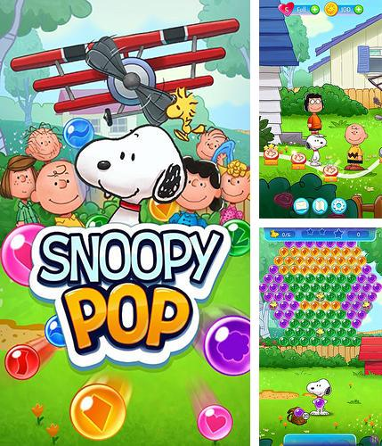 In addition to the game Bunny pop for Android phones and tablets, you can also download Snoopy pop for free.