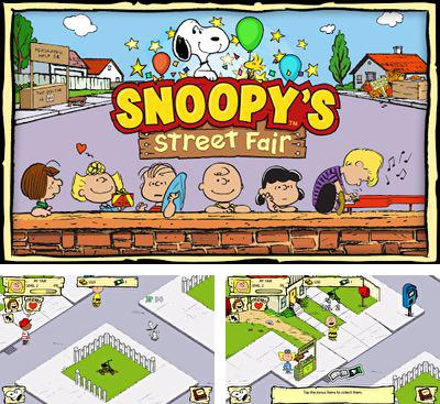 In addition to the game Monster Pet Shop for Android phones and tablets, you can also download Snoopy's Street Fair for free.