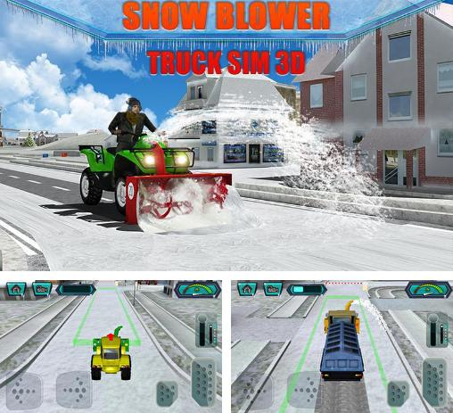 In addition to the game Drawdle for Android phones and tablets, you can also download Snow blower: Truck sim 3D for free.