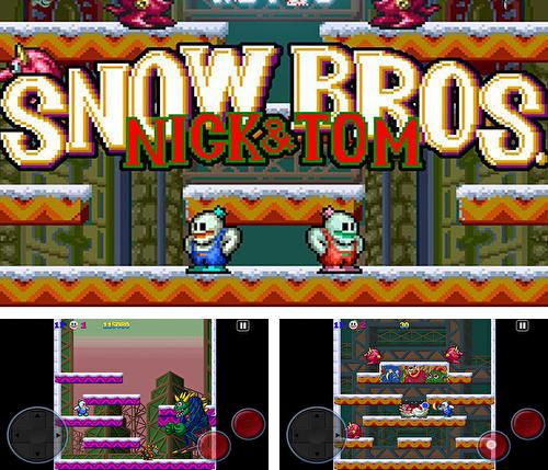 Snow bros. Nick and Tom