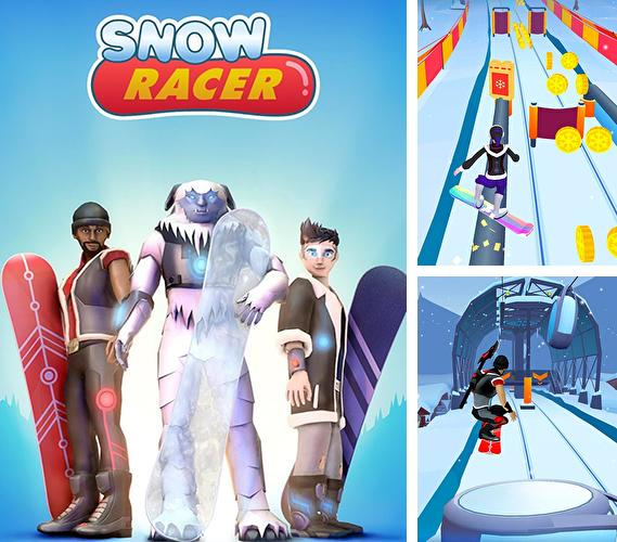 Snow racer: Mountain rush