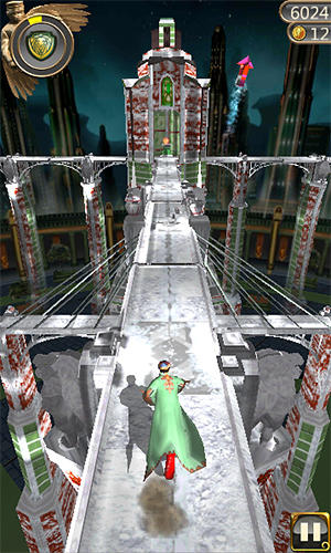 Snow temple run скриншот 2