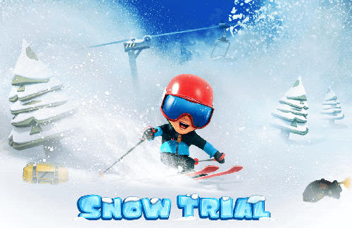 Snow trial poster