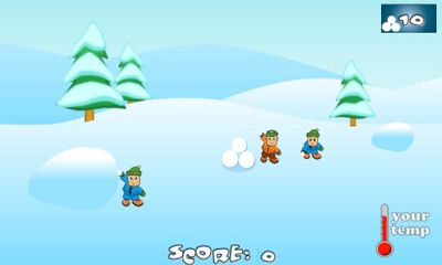 Download SnowBall Fight Winter Game HD Android free game.