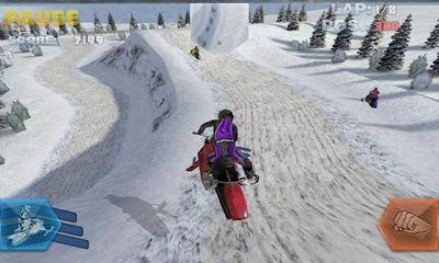 Snowbike Racing screenshot 5