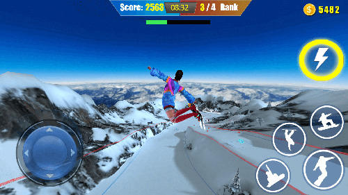 Screenshots von Snow spin: Snowboard adventure für Android-Tablet, Smartphone.