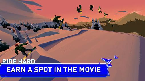 Screenshots do Snowboard legend - Perigoso para tablet e celular Android.