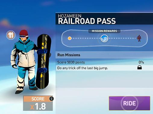 Snowboarding: The fourth phase screenshot 3