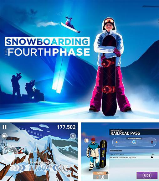 In addition to the game APO Snow for Android phones and tablets, you can also download Snowboarding: The fourth phase for free.