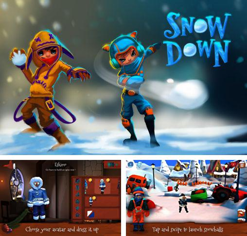 In addition to the game Inoqoni for Android phones and tablets, you can also download Snowdown: Winter edition 3D for free.