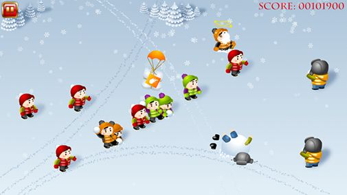 Snowfighters screenshot 2
