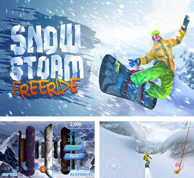 In addition to the game APO Snow for Android phones and tablets, you can also download Snowstorm for free.
