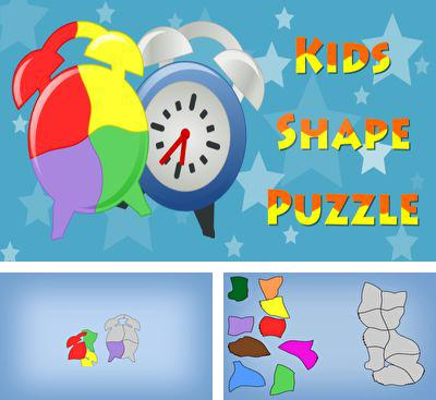 In addition to the game Color & Draw For Kids for Android phones and tablets, you can also download Kids Shape Puzzle for free.