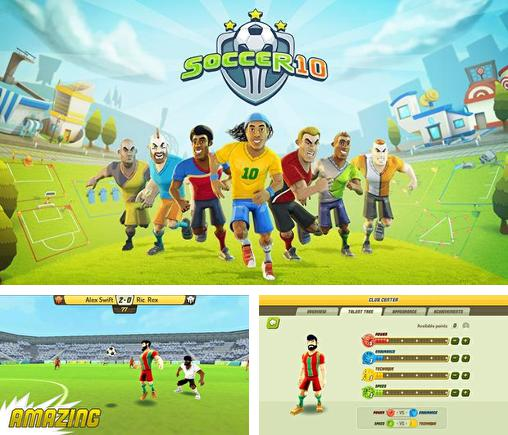 In addition to the game Metegol for Android phones and tablets, you can also download Soccer 10 for free.