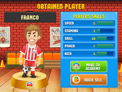 Soccer academy simulator screenshot 1