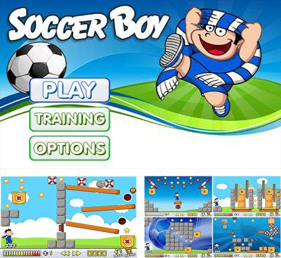In addition to the game Planet Attack Runner for Android phones and tablets, you can also download Soccer Boy for free.