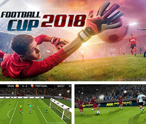 In addition to the game Soccer: Ultimate team for Android phones and tablets, you can also download Soccer cup 2018: Feel the atmosphere of Russia for free.