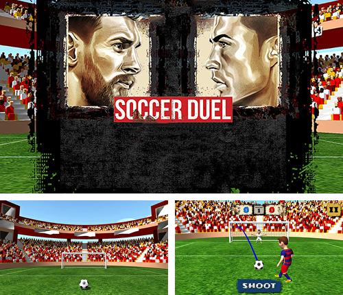 In addition to the game Shoot goal: League 2017 for Android phones and tablets, you can also download Soccer duel for free.