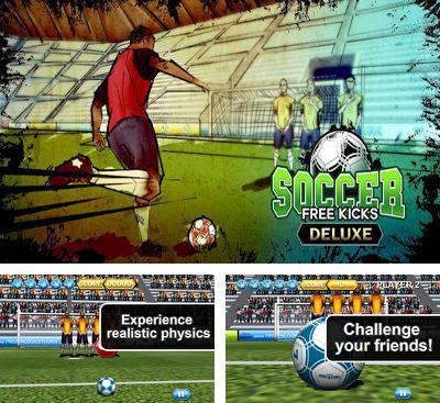 In addition to the game Kick Flick Soccer Football HD for Android phones and tablets, you can also download Soccer Free Kicks for free.