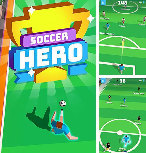 Soccer hero: Endless football run
