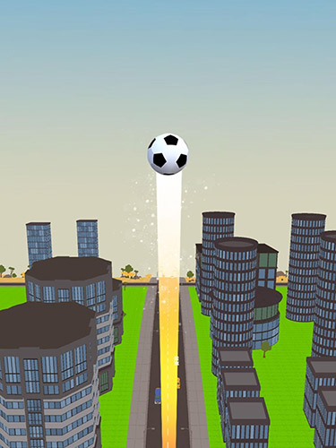 Screenshots of the Soccer kick ball for Android tablet, phone.