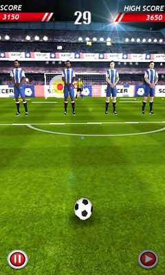 Screenshots von Soccer Kicks für Android-Tablet, Smartphone.