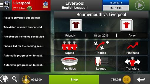 Soccer manager 2016 screenshot 3