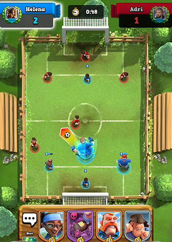 Screenshots von Soccer royale 2019 für Android-Tablet, Smartphone.