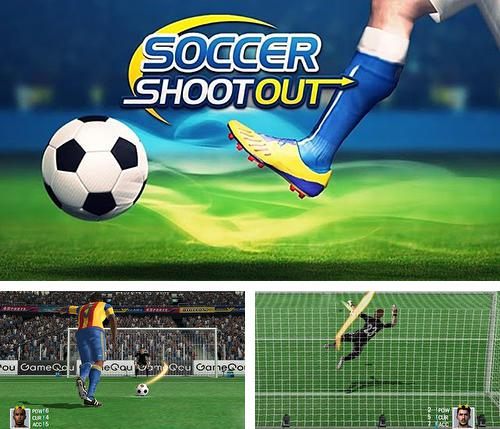 In addition to the game Shoot goal: League 2017 for Android phones and tablets, you can also download Soccer shootout for free.