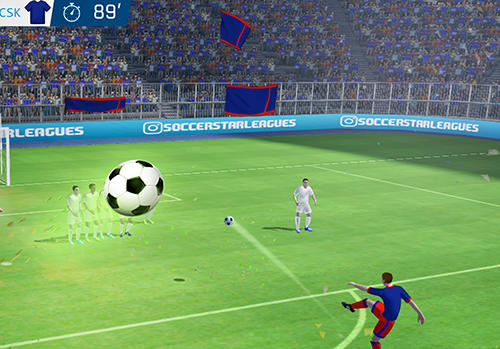 Screenshots do Soccer star 2019: Top leagues - Perigoso para tablet e celular Android.