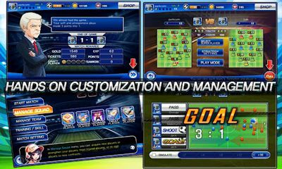 Soccer Superstars 2012 screenshot 2