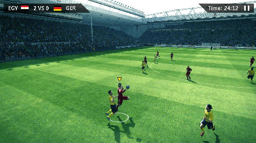 Kostenloses Android-Game Soccer: Ultimatives Team. Vollversion der Android-apk-App Hirschjäger: Die Soccer: Ultimate team für Tablets und Telefone.