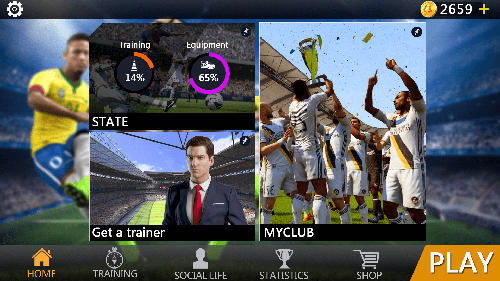 Get full version of Android apk app Soccer: Ultimate team for tablet and phone.