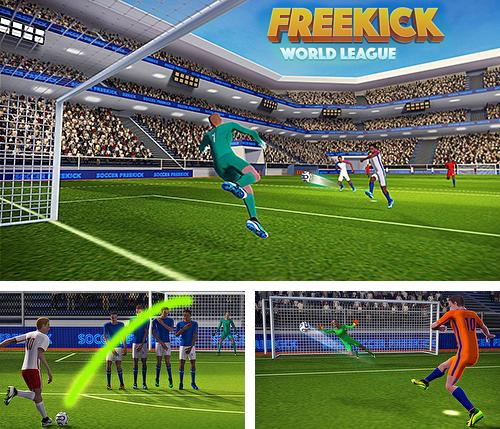 In addition to the game Soccer world league freekick for Android, you can download other free Android games for iOcean X1.