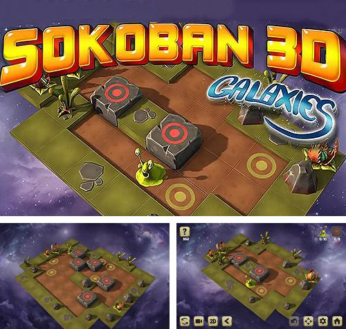 Sokoban galaxies 3D