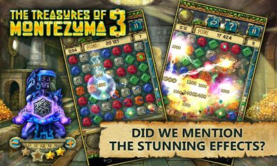 Screenshots von The Treasures of Montezuma 3 für Android-Tablet, Smartphone.